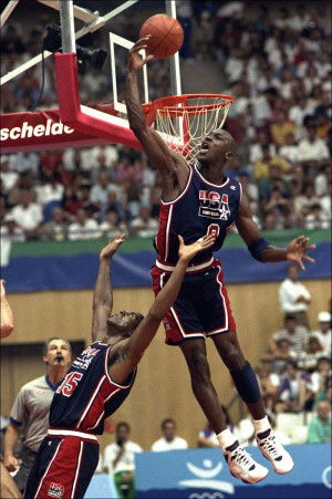 Michael Jordan & Dream Team 1992