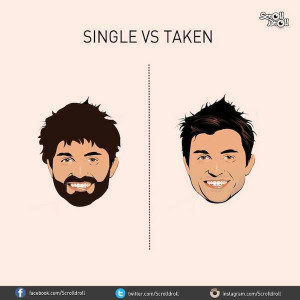Charts That Sum Up The Difference Between Single Guys And Taken Guys