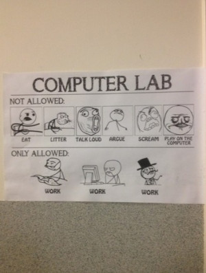Computer lab guide
