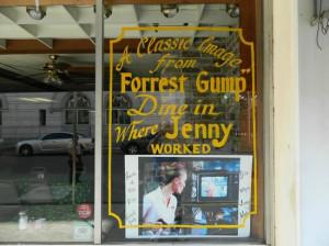 Forrest Gump quotes - Picture of Debi's The Restaurant, Savannah