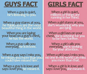 guys fact when guy is quiet he s listening to you when a guy stares at ...