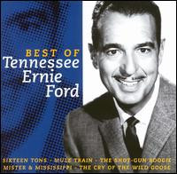 The Best of Tennessee Ernie Ford Disky Album Cover
