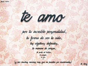 amor, carta, escrito, espanol, love, objetivo, personalidad, romance ...