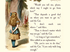 Lewis Carroll , Alice in Wonderland