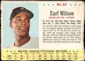 Earl Wilson's Profile