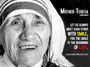 Mother Teresa Famous Quotes