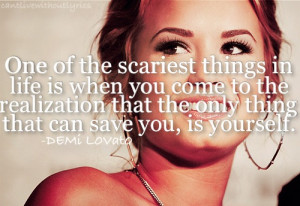 Demi Lovato Quotes About Life