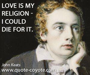 John Keats -