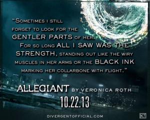 Divergent Series Allegiant Quotes
