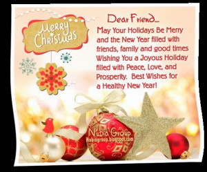 ... . Wish yoou all merry Christmas and a happy new year