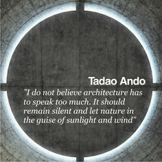 Tadao Ando - Pinned by www.modlar.com More