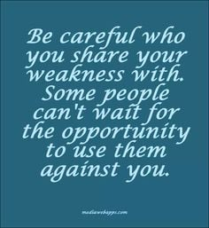 ... anything with people you don't trust 100%. Shady people out there More