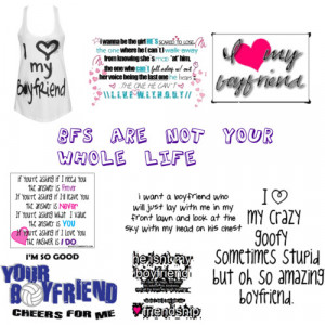 Boyfriend quotes - Polyvore