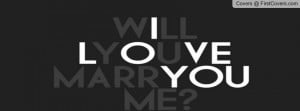 will u marry me Profile Facebook Covers