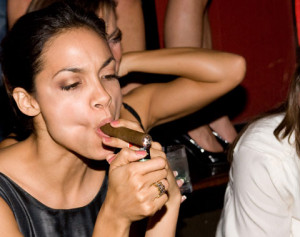 Quoted from: We Love Women Who Smoke Cigars | Complex Blog