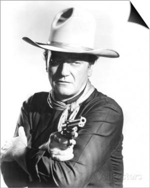 John Wayne, The Man Who Shot Liberty Valance (1962) SwitchArt™ Print