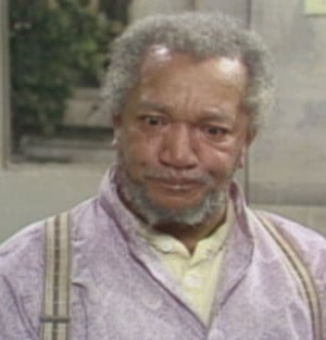 Fred Redd Fox is nobody's - Sanford and Son Picture