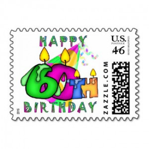 happy 60th birthday postage by mousearte more happy birthday 60