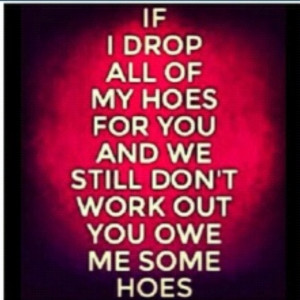 Don't Be a Hoe Quotes