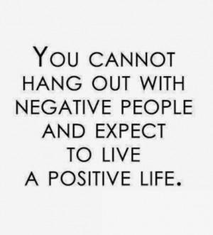 Negative People...