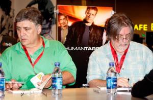 Maurice LaMarche - Matt Groening - Futurama - Comic-Con 2009 - Michael ...
