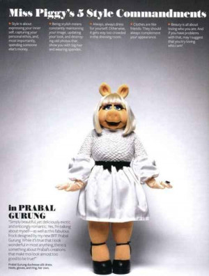 ... Undeniable Style And Beauty Lessons From Miss Piggy - BuzzFeed Mobile