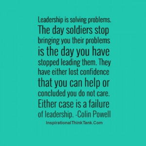 +solving+problem-Leadership+Quotes-Colin+Powell+Quotes-Failure+Quotes ...