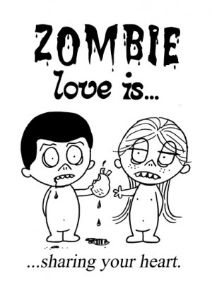 Quotes About Zombie Love : Zombie Lover Quotes. QuotesGram