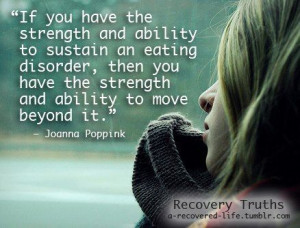 in recovery from eating disorders. #anorexia #eatingdisorder #quotes ...