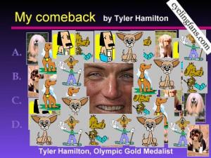 Tyler Hamilton PowerPoint slide 3