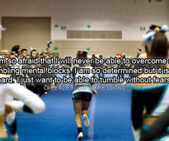Cheer Quotes For Bases Tumblr Cheerleading confessions