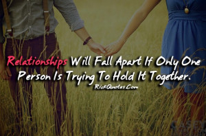 Relationship Quotes | Hold It Together