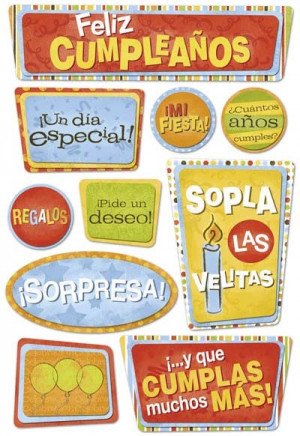 ... Themes - Life Events / Spanish - Happy Birthday / Birthday - Spanish