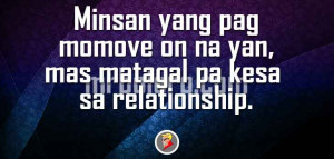 Tagalog Quotes about Moving On