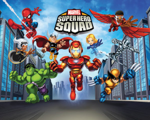 Home Wallpaper Marvel Super Hero Squad Marvel Super Hero Squad