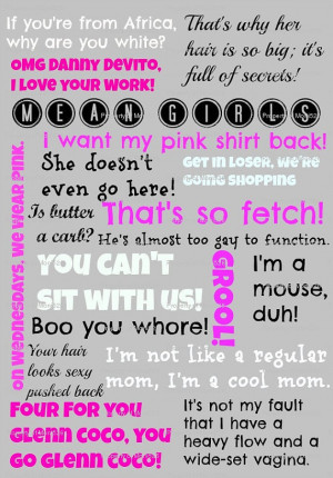 Related Pictures mean girls quote respect truth