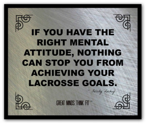 poster and quote 003 lacrosse goals are lacrosse dreams with deadlines ...