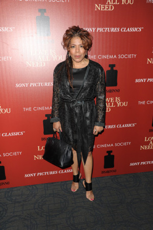 Valerie Simpson Valerie Simpson attends the Cinema Society amp ...