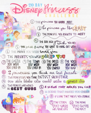 ... can check out Day 6 of the 20 Day Disney Princess Blog Challenge HERE