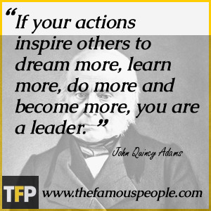 Life Quote John Quincy Adams