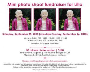 Cancer Patient Fundraiser Flyer Template