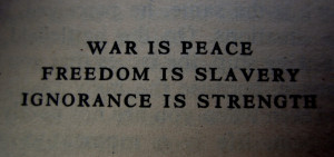 poignant quote from 1984 by George Orwell, one of my favourite ...