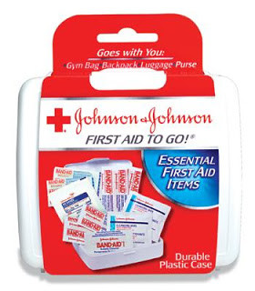 Johnson & Johnson Travel First Aid Kit for $.25!!!