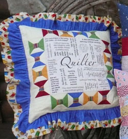 Pillow Talk - Quilter Quotes