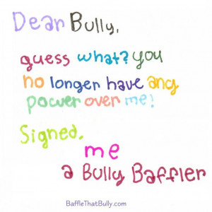 , Verbal Bullying, Positive Quotes, Anti Bullying, Bullying Quotes ...
