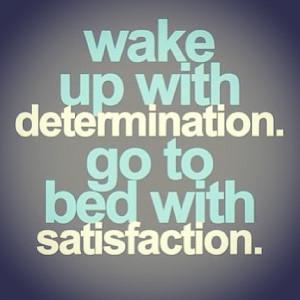 Motivation Picture Quote Determination