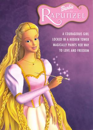 Barbie Movies BIGGER version No. 2! Rapunzel poster.