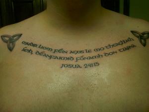 joshua gaelic tattoo 27 Incredible Gaelic Tattoos