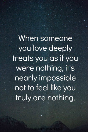 Quotes About Feeling Worthless Tumblr If your spouse makes you feel