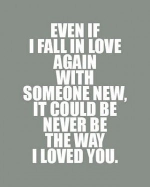 Fall In Love Again | Love Quote